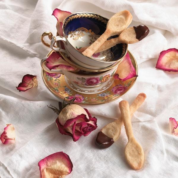 shortbread spoons