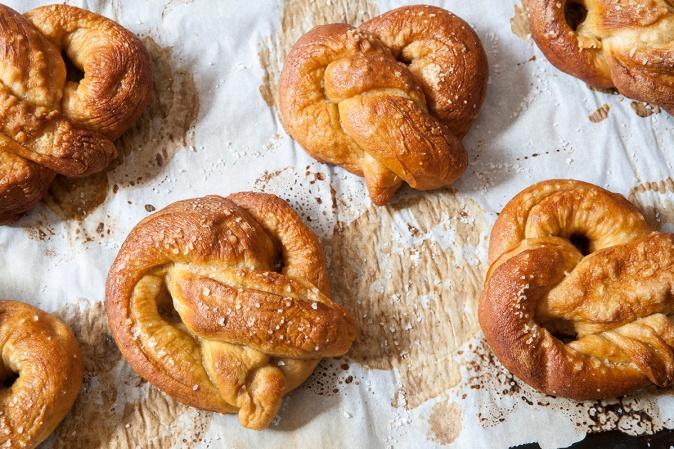 Fresh Baked Pretzels